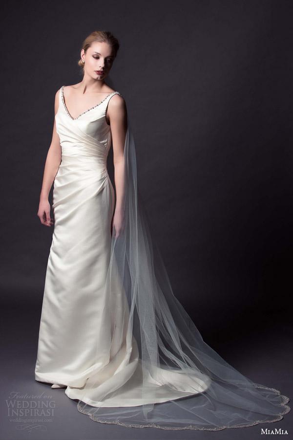 Wedding Dress Veil 65 Good miamia bridal saskia wedding
