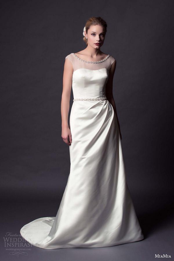 Miami Wedding Dresses 31 Nice miamia bridal blythe illusion