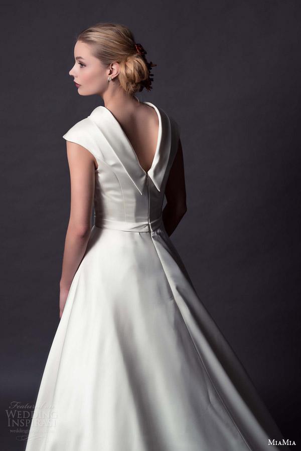Tea Length Ball Gown Wedding Dresses 62 New miamia bridal charlotte cap