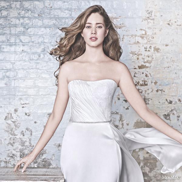 Lace Strapless Wedding Dresses 94 Epic miamia bridal campaign verona