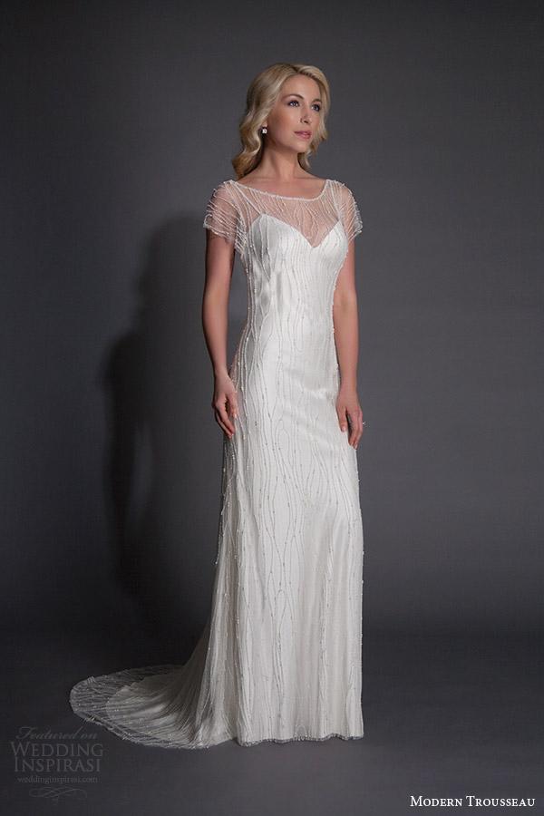 Modern Lace Wedding Dresses 46 Spectacular modern trousseau spring halston