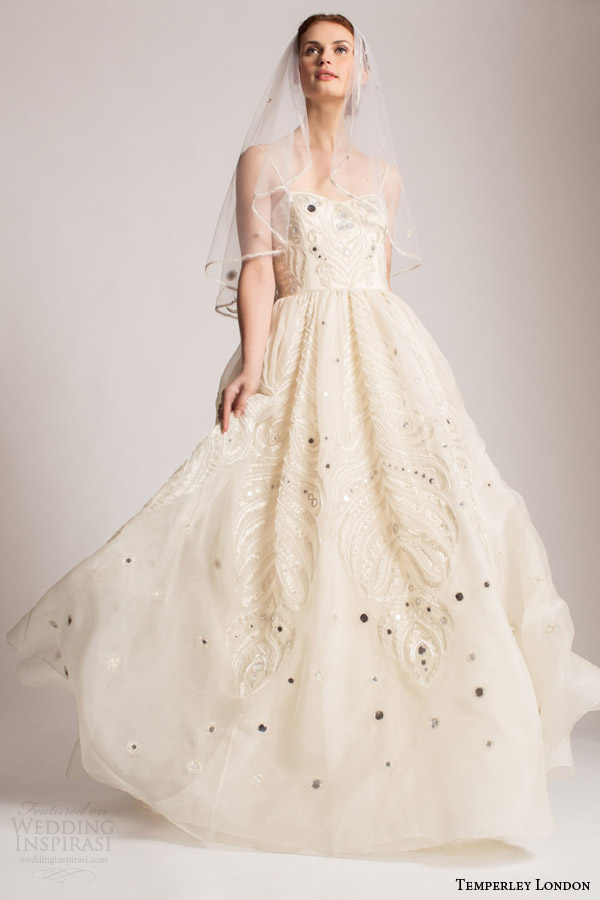 Wedding Dresses Affordable London : Temperley london summer wedding dresses marianna bridal