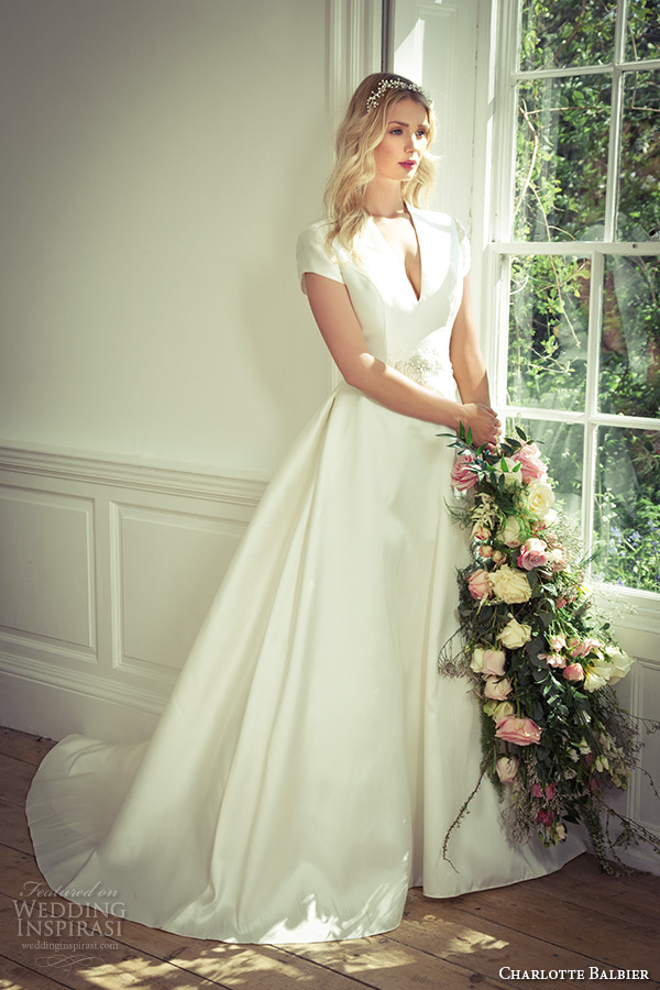 Tea Length Wedding Dresses With Cap Sleeves