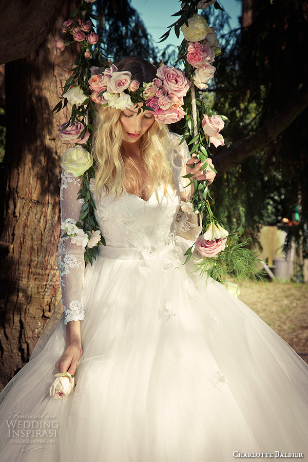 Charlotte balbier 2016 wedding dresses willa rose bridal for White and lilac wedding dress