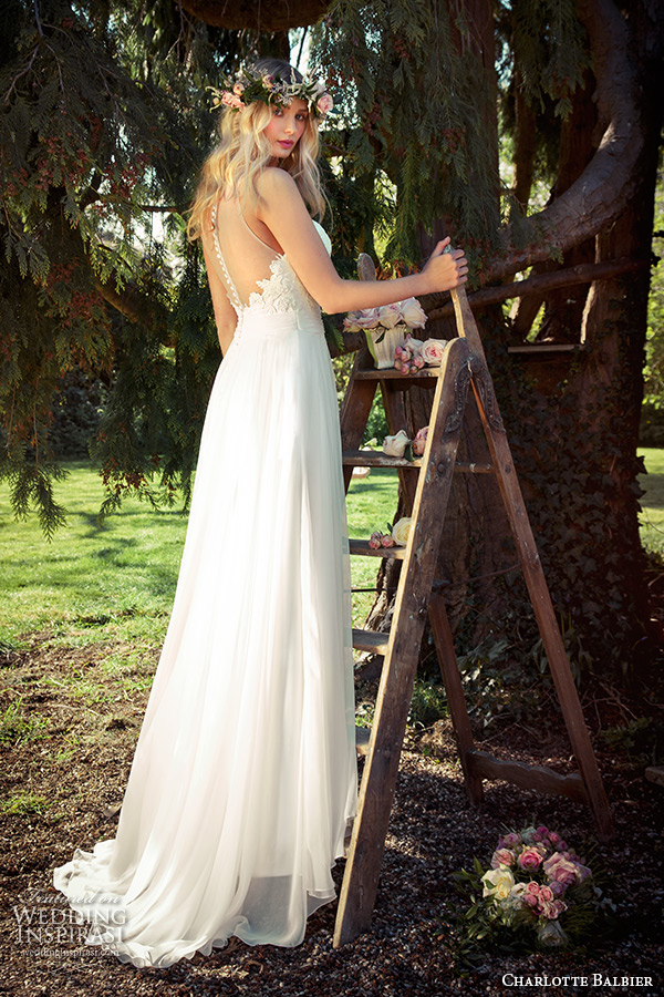 charlotte balbier 2016 bridal sleeveless sheer neckline sweetheart modified a line wedding dress willa rose back