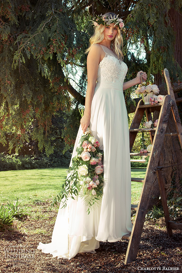 charlotte balbier 2016 bridal sleeveless sheer neckline sweetheart modified a line wedding dress willa rose