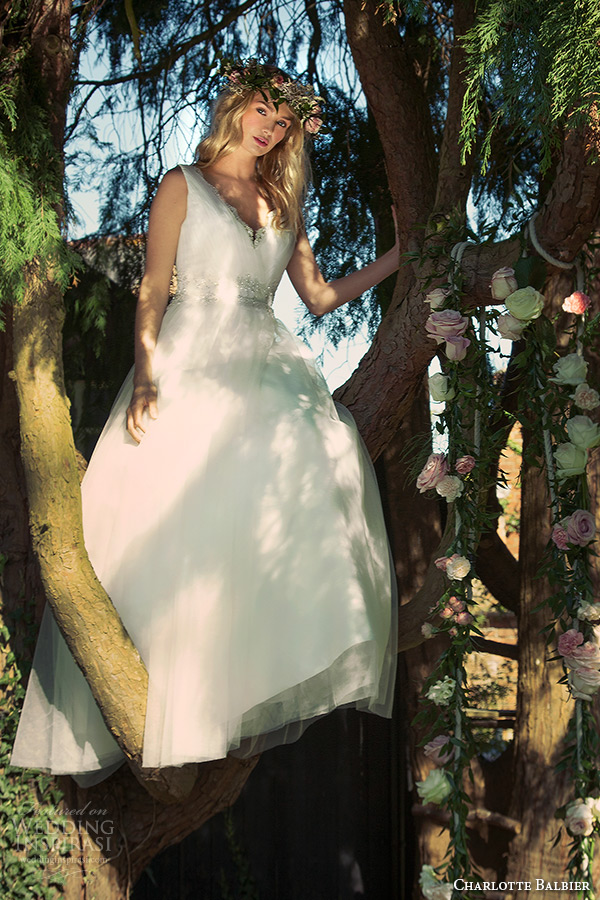 charlotte balbier 2016 bridal v neck wedding ball gown dress amba