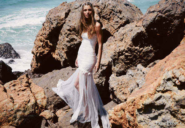 free people bridal 2015 fpeverafter grace loves lace dion maxi strapless wedding dress