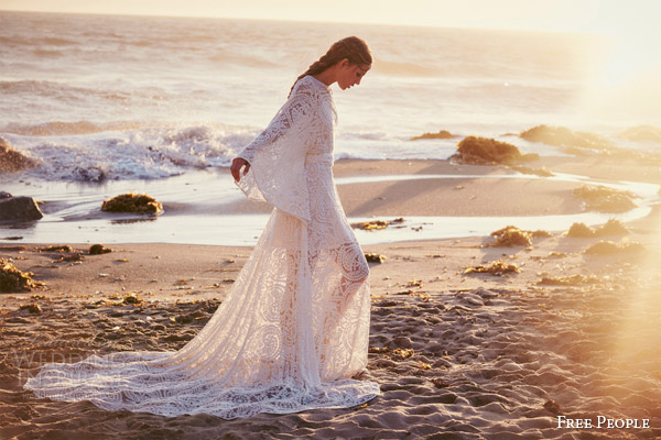 free people bridal 2015 fpeverafter lady wren bohemian wedding dress odylyne the ceremony