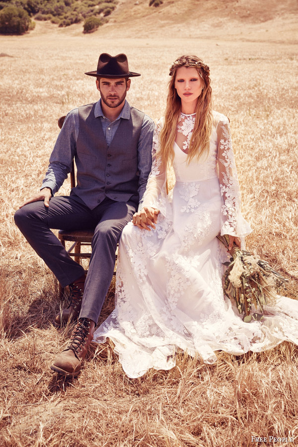 Free People Wedding Dresses — FPEverAfter Bridal Collection ...