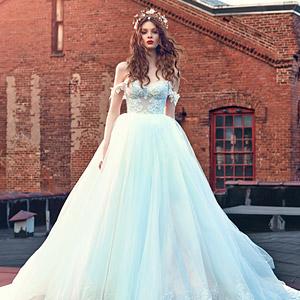 galia lahav bridal spring 2016 cinderella ball gown wedding dress off shoulder straps 300