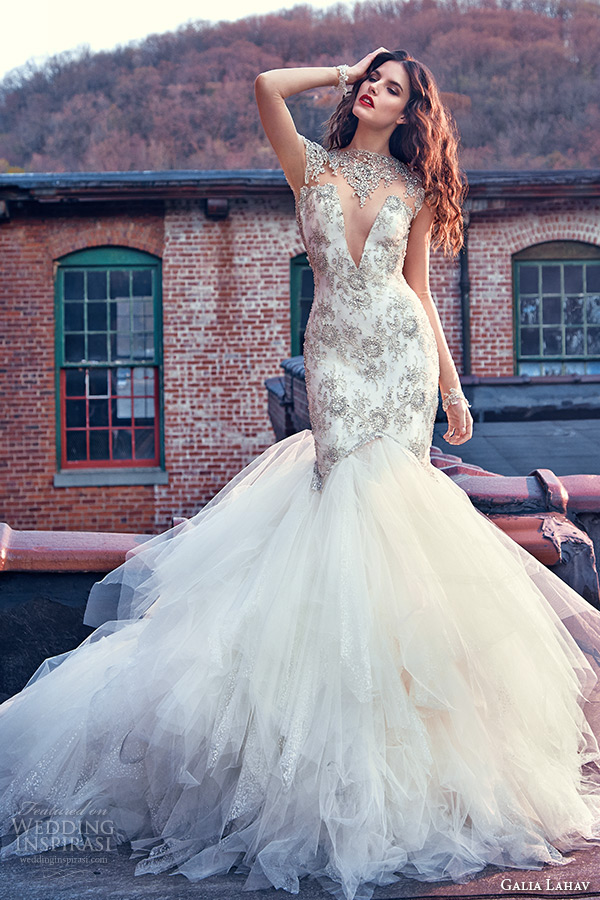 Rose Gold Wedding Dress 50 Simple galia lahav spring bridal