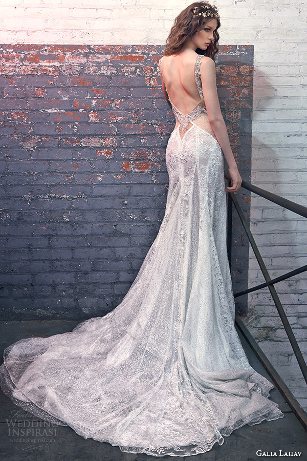 Deep Low Back Wedding Dress : Galia lahav bridal spring wedding dresses les r?ves