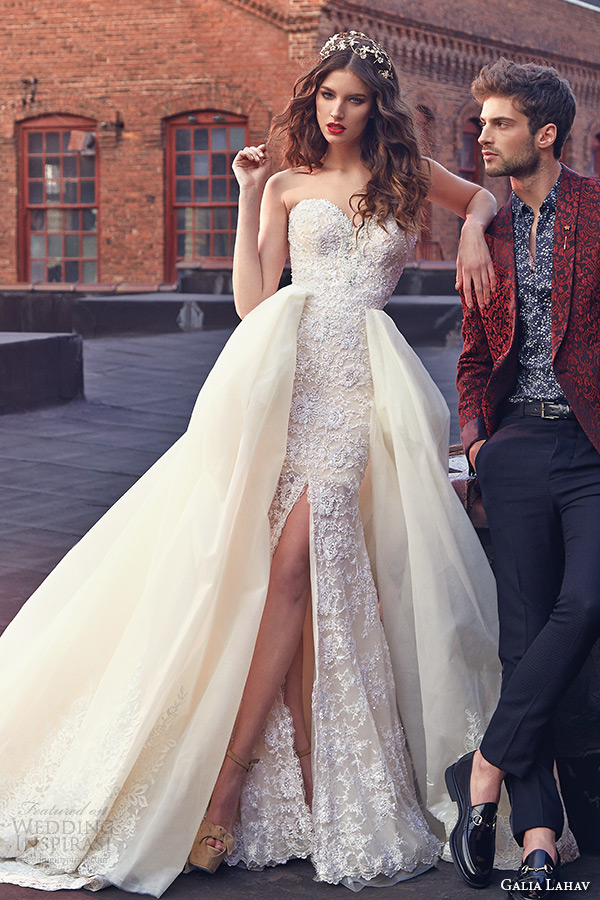 Galia lahav bridal spring 2016 wedding dresses les r ves for Painted on wedding dress