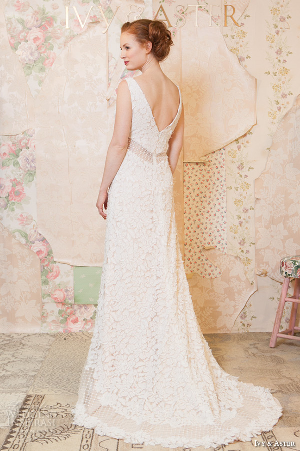 Ivy aster spring wedding dresses — through the