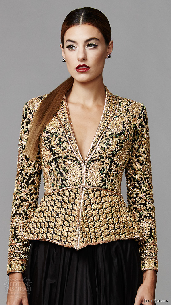 Gold Evening Jackets for Women