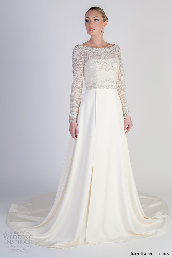 jean ralph thurin bridal spring 2016 wedding dresses
