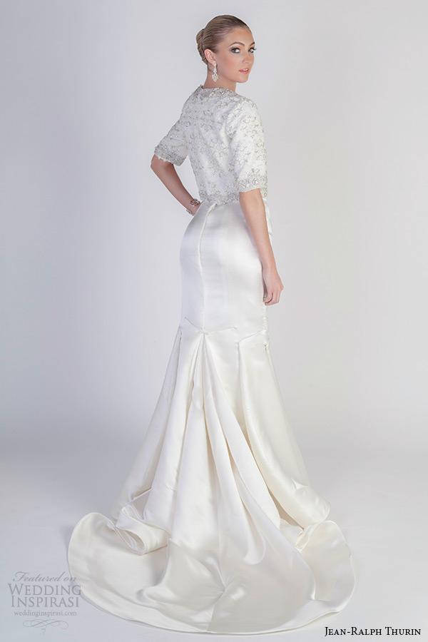 Wedding Dresses Galore 8 Simple jean ralph thurin spring