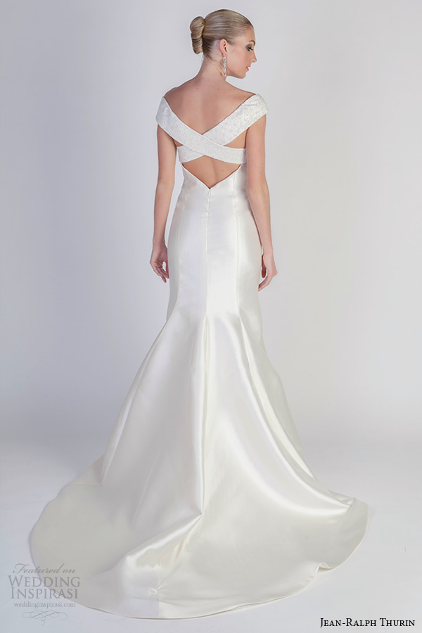 Fit And Flare Wedding Gowns 69 Luxury jean ralph thurin spring