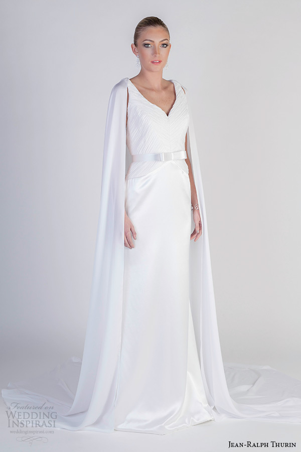 Sleek Wedding Gowns 23 Cool jean ralph thurin spring