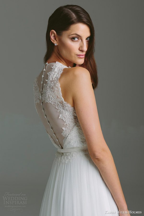 Georgette Wedding Dress 60 Spectacular karen willis holmes bespoke