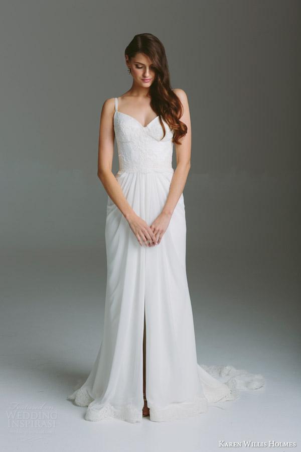 Georgette Wedding Dress 21 Ideal karen willis holmes bespoke