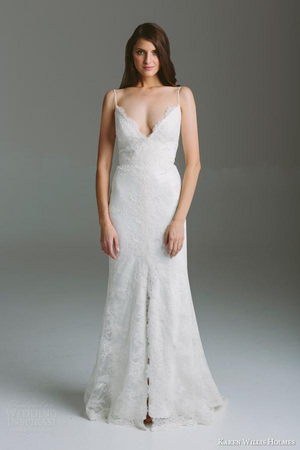 Georgette Wedding Dress 48 Great karen willis holmes bridal