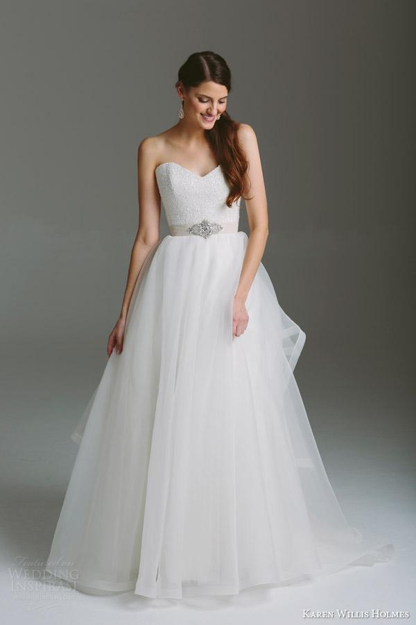 Georgette Wedding Dress 83 Beautiful karen willis holmes bridal