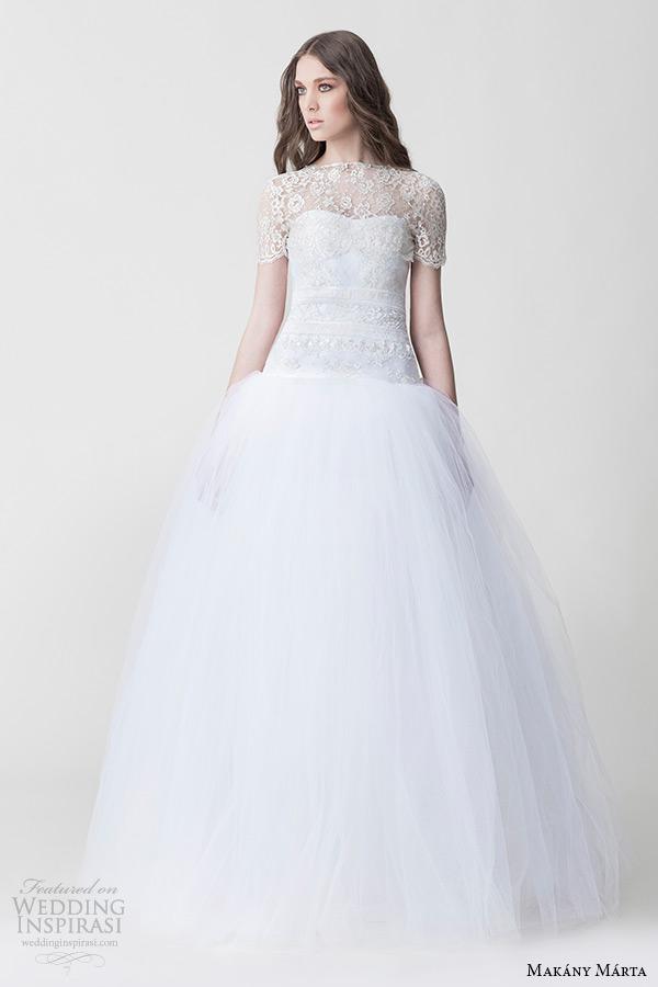 Short Tulle Wedding Dress 8 Unique makany marta bridal midsummer