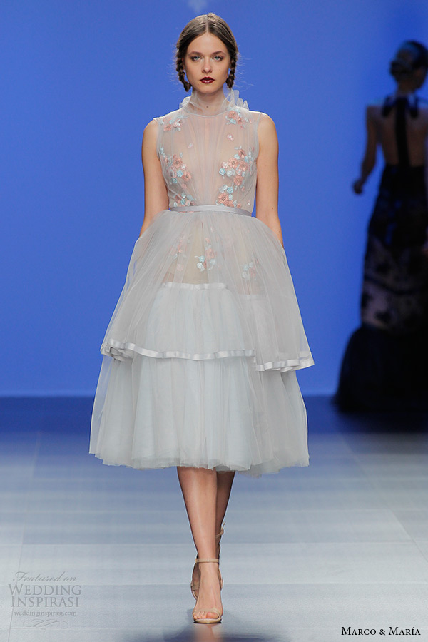 Short Tulle Wedding Dress 96 Superb marco and maria bridal