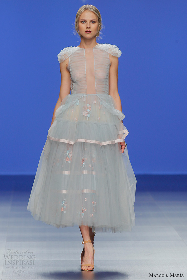 Short Tulle Wedding Dress 62 Simple marco and maria bridal