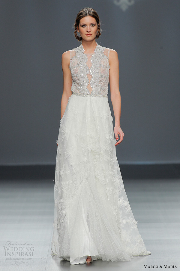 High Neck Wedding Dresses 42 Simple marco and maria bridal