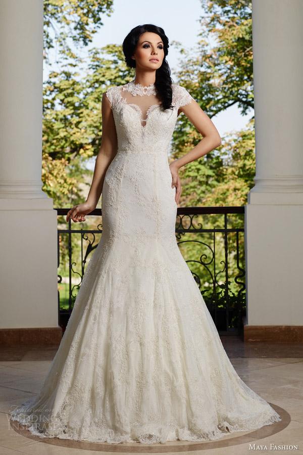 Silhouette Wedding Gowns 24 Trend maya fashion bridal e