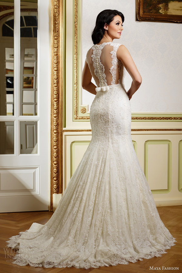 Maya Fashion 2015 Wedding Dresses — Limited Bridal Collection ...