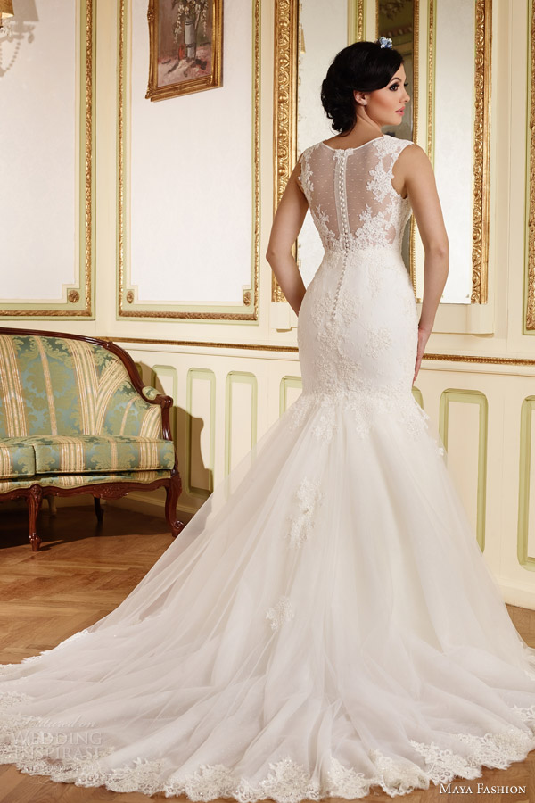 Maya fashion 2015 wedding dresses limited bridal for Romanian wedding dress designer