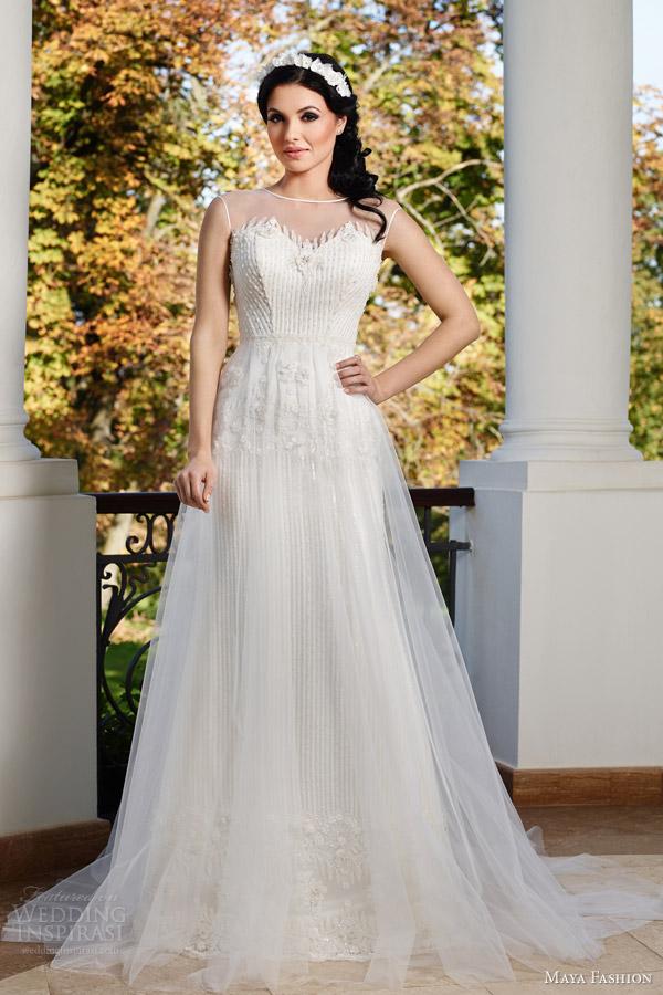 Wedding Dresses Mermaid Trumpet 84 Simple maya fashion limited bridal