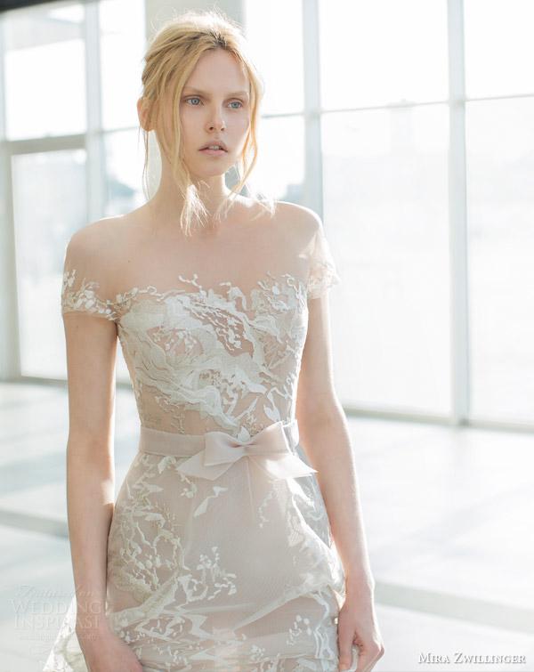 Lace Short Wedding Dress 30 Beautiful mira zwilinger stardust bridal