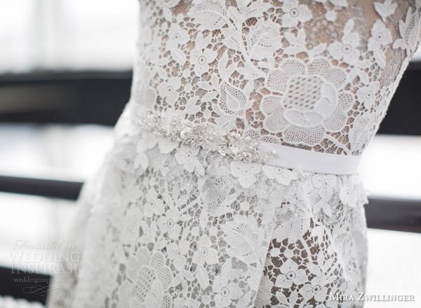 Guipure Lace Wedding Dress 50 New mira zwilinger bridal stardust