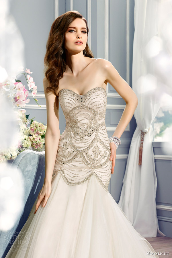 Moonlight Couture Fall 2015 Wedding Dresses | Wedding Inspirasi