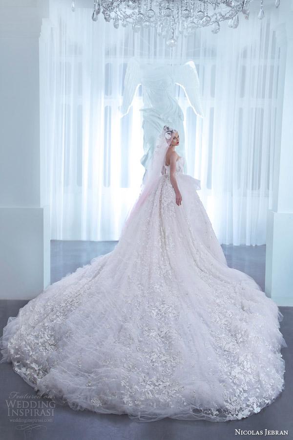 Nicolas Jebran Spring 2015 Couture Collection Wedding