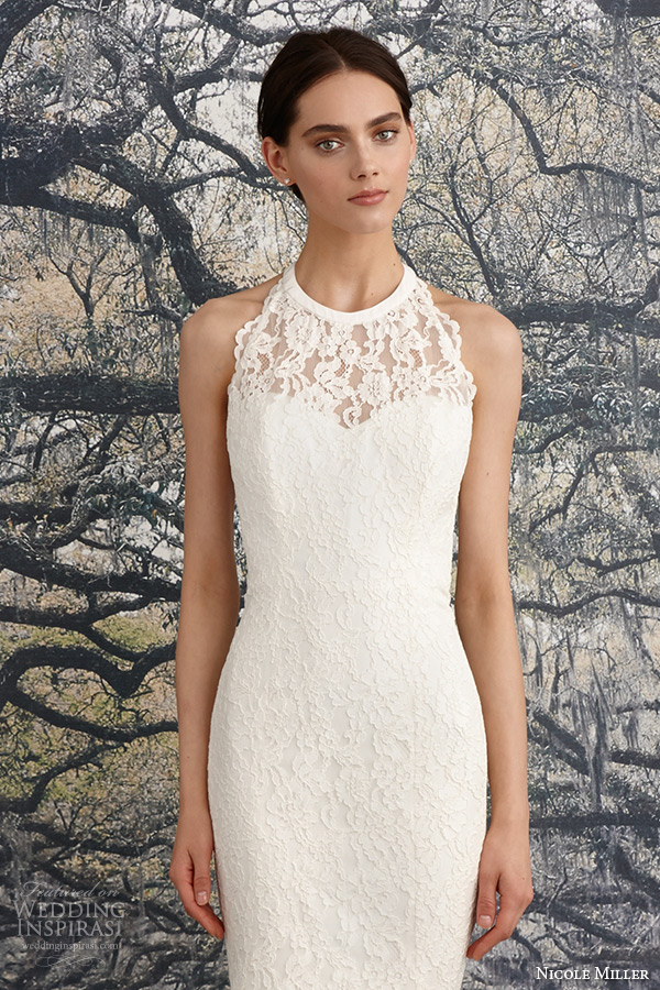 Nicole Miller Lace Wedding Dress