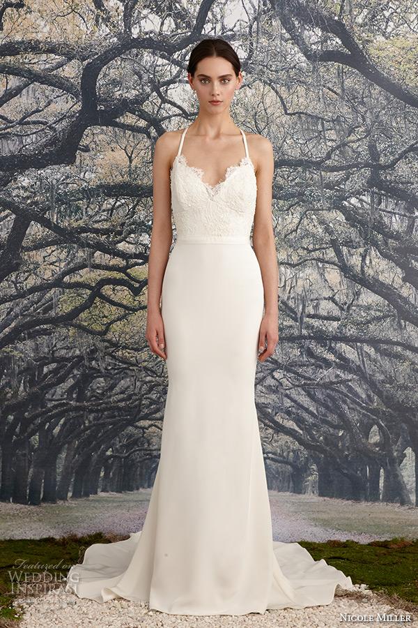 Nicole miller bridal spring 2016 wedding dresses wedding for Nicole miller beach wedding dress