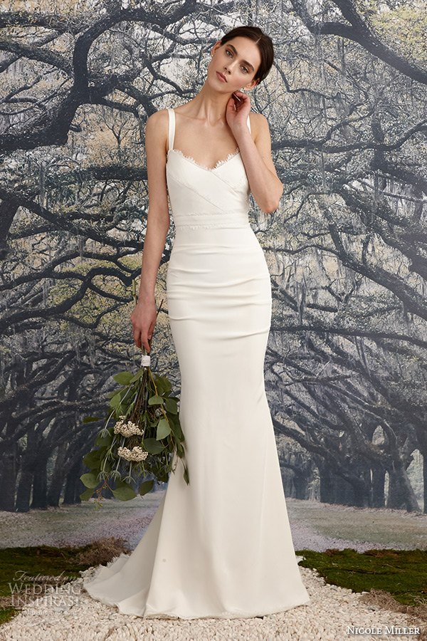 Nicole Miller Bridal Spring 2016 Wedding Dresses Wedding Inspirasi