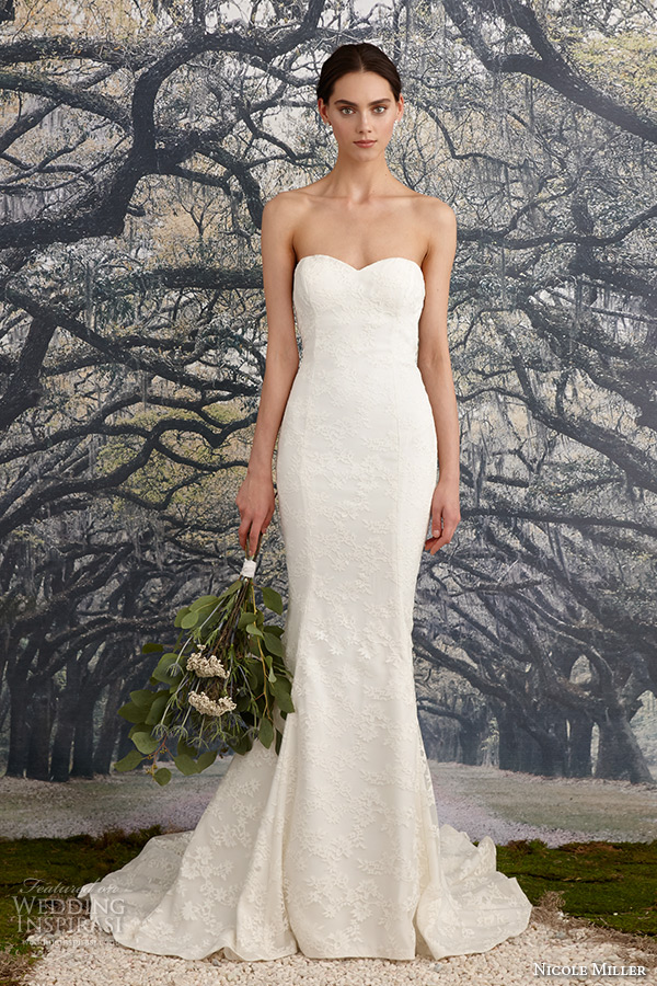 Nicole miller bridal spring 2016 wedding dresses wedding for Nicole miller dresses wedding