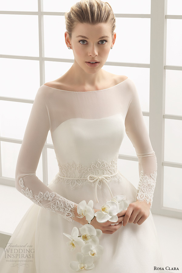 A Line Simple Wedding Dress