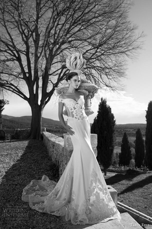 Black And White Wedding Gowns 93 Lovely tarik ediz bridal zumrut