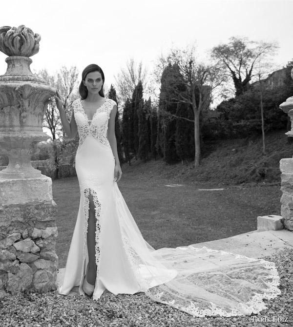 Black White Wedding Gowns 65 Spectacular tarik ediz white jasper