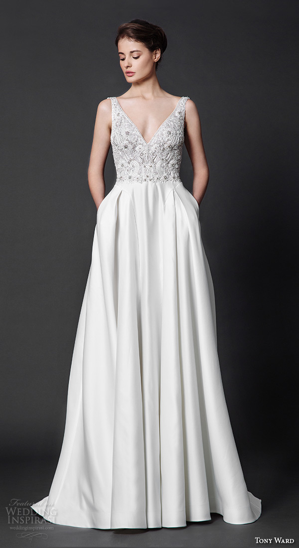 Tony Ward 2016 Wedding Dresses Abstract Roses Bridal