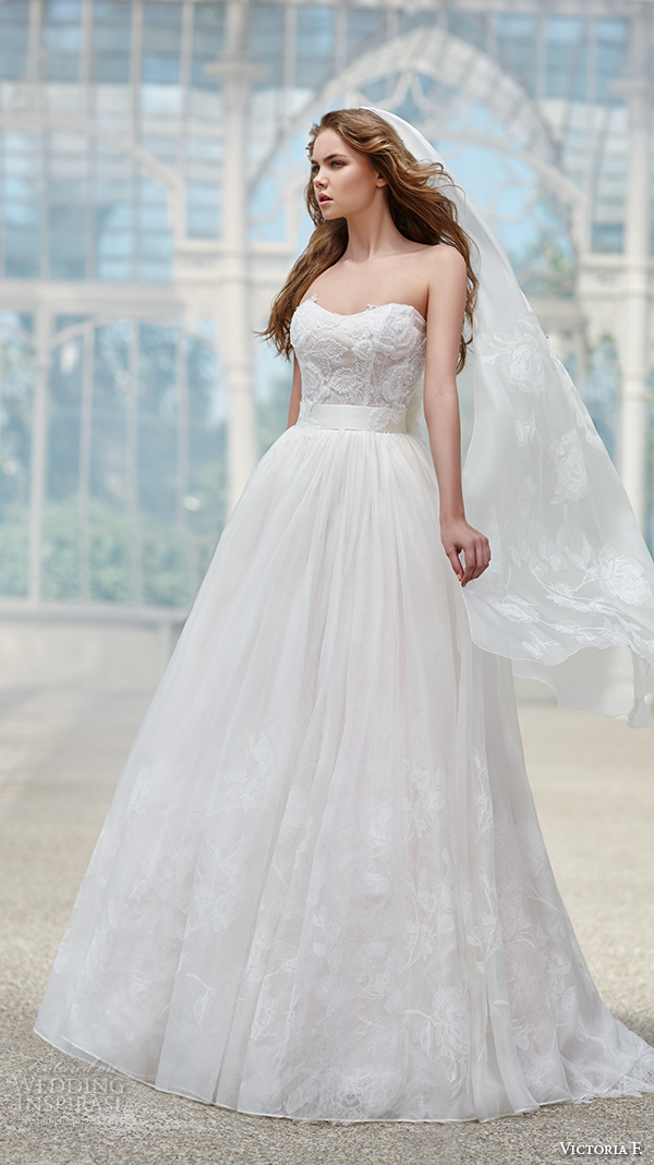 Victorian Wedding Dresses 28 Spectacular victoria f bridal strapless