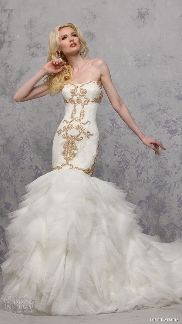 Ivory And Gold Wedding Dresses - Wedding Dresses Thumbmediagroup.Com